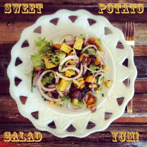 (A melhor) Salada de batata doce